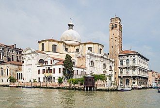 San Geremia - Image: San Geremia (Venice) view from Grand canal