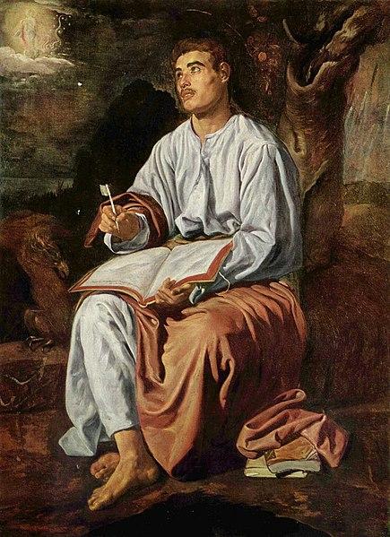 File:San Juan Evangelista en Patmos, by Diego Velázquez.jpg