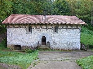 Baserri - The Baseliza (hermitage) of Iturriotz in Aia.