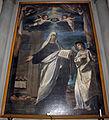 San bartolomeo a monte oliveto, int., fabrizio boschi, santa francesca romana 02.JPG