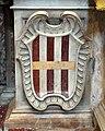 San giovanni dei fiorentini, roma, interno, stemma nerli 01.jpg