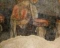 San lorenzo in insula, cripta di epifanio, affreschi di scuola benedettina, 824-842 ca., teoria di sei sante in costume bizantino, 16 corona gemmata.jpg