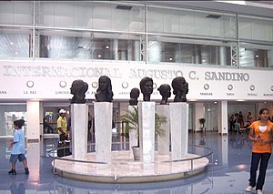 Sandino International Airport - Sculptures.jpg