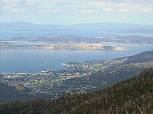 Dynnyrne, Tasmania - Dynnyrne, Sandy Bay, and South Hobart