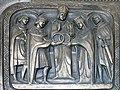 Sankt Oswald bei Freistadt Pfarrkirche - Portal 5 Heirat.jpg