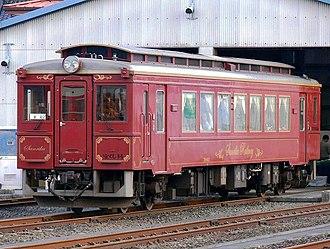 Sanriku Railway - Retro styled Sanriku Railway 36-600 series train