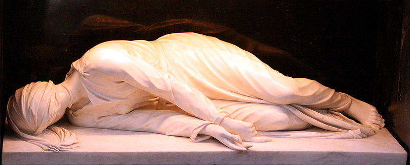 File:Santa Ceciclia Travesere statue (2).jpg