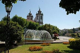 Santa Comba Dão Municipality in Centro, Portugal