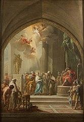 Saint Leocadia before the Praetor