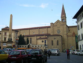 Santa Maria Novella - Side view from Piazza Unità d'Italia