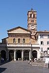 Santa Maria in Trastevere 1 BW.JPG