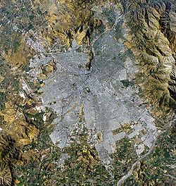عاصمة تشيلي وأكبر مدنها