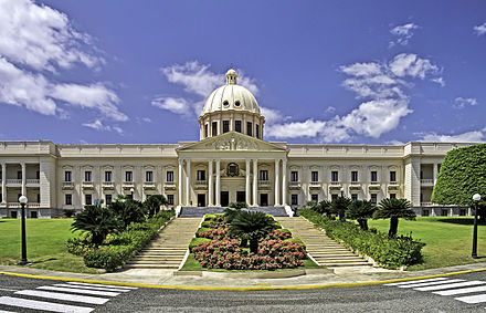 The National Palace in Santo Domingo Santo Domingo National Palace.jpg