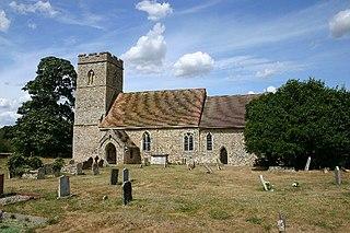 St Andrews Church, Sapiston Church in Suffolk, England