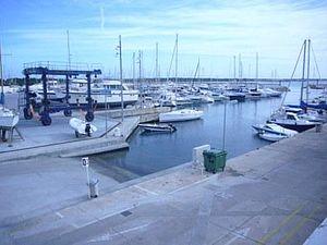 Campos, Majorca - Sa Ràpita port.