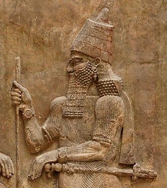Osorkon IV - Sargon II, Osorkon's Assyrian opponent.