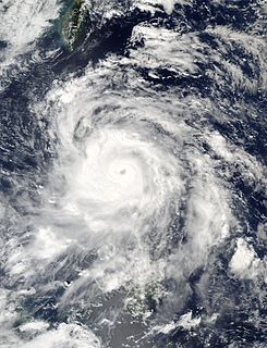 Typhoon Sarika Pacific typhoon in 2016