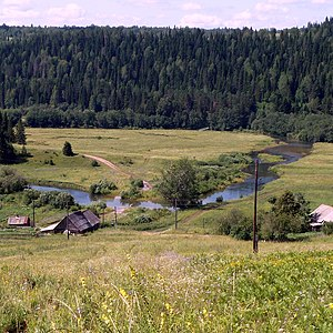 Oktyabrsky District, Perm Krai - Sars River, Oktyabrsky District