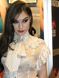 Sasha Grey @ AVN Adult Entertainment Expo 2009 01.jpg