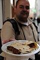 Savoury pies, Chez le Libanais, 75006 Paris, March 2009 002.jpg