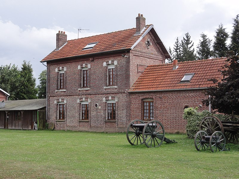 Savy (Aisne) ancienne gare