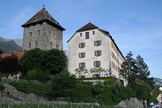 Maienfeld - Image: Schloss Brandis