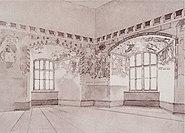 Schloss Brandis Malereien