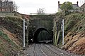 Scholes Lane tunnel, Thatto Heath railway station (geograph 3795558).jpg