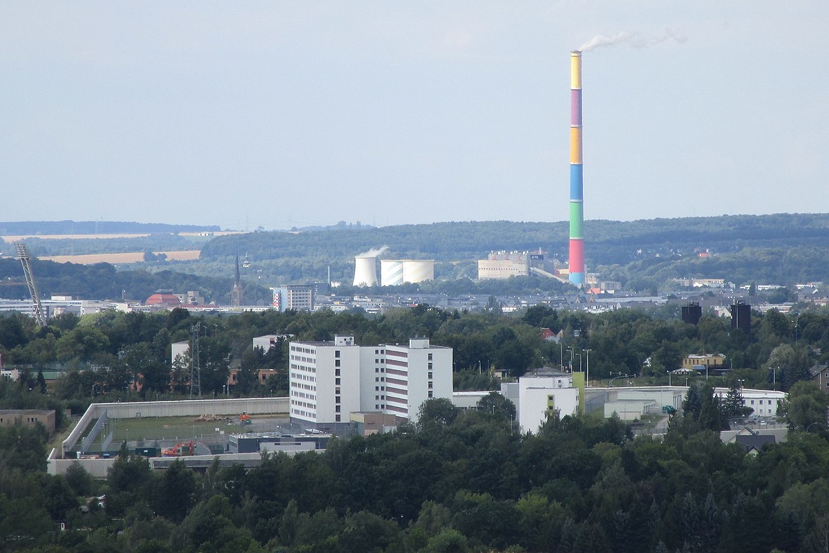 Kamin Chemnitz heizkraftwerk chemnitz nord