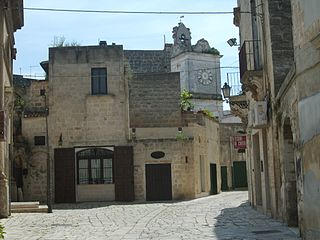 Francavilla Fontana Comune in Apulia, Italy