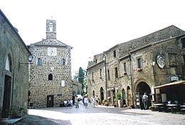Centro storico di Sovana. Foto Wikipedia