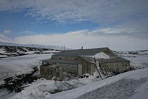 Cape Evans - Scott's Hut at Cape Evans