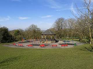 Scott Park Park in Burnley, United Kingdom