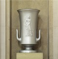 "Sculpture ""Justice"" located at second floor elevator, no. 9, Department of Justice, Washington, D.C LCCN2010720185.tif"
