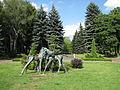 Sculptures in the Silesian Zoological Garden 03.JPG