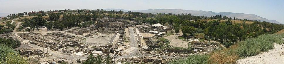 Szkütopolisz romjai