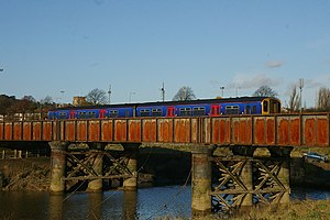Severn Beach line - Image: Sea Mills railway station MMB 13 150233