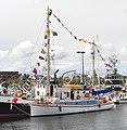 Seattle - 2018 Fishermen's Fall Festival - 52 - Sea Scouts boat 'Yankee Clipper' (cropped).jpg