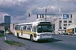Seattle GM New Look bus on Airport Way in 1983.jpg