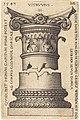 Sebald Beham, Capital and Base of a Column, 1543, NGA 6313.jpg