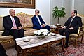 Secretary Kerry, Egyptian Foreign Minister Shoukry Discuss Gaza Ceasefire With Egyptian President al-Sisi in Cairo.jpg
