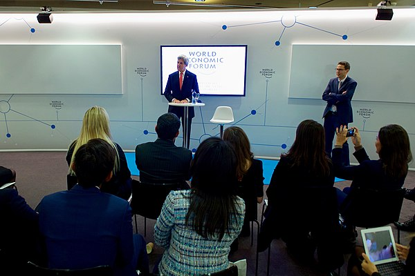 Secretary Kerry Addresses Young Business People at the World Economic Forum in Davos (31530415614).jpg