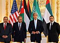 Secretary Kerry Meets With Saudi Foreign Minister Saud al-Faisal, UAE Foreign Minister Abdullah bin Zayed, and Jordanian Foreign Minister Judeh, June 2014.jpg
