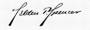 Selden P. Spencer - Image: Selden Palmer Spencer Signature