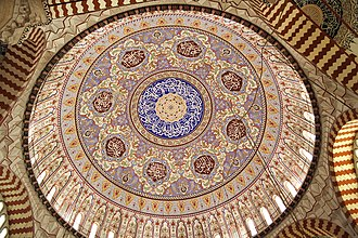 Islamic architecture - Image: Selimiye Mosque, Dome