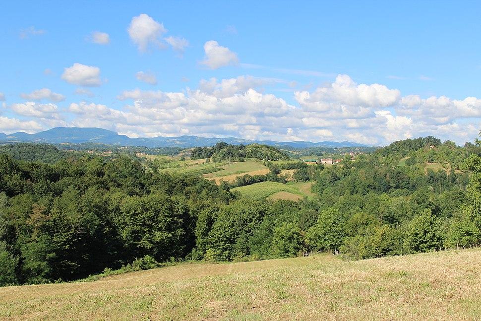 Selo Beomužević - opština Valjevo - zapadna Srbija - Panorama 3