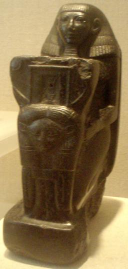 Senenmut-KneelingStatue MetropolitanMuseum