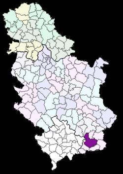 mapa vranje srbija Gornji Neradovac   Wikipedia mapa vranje srbija