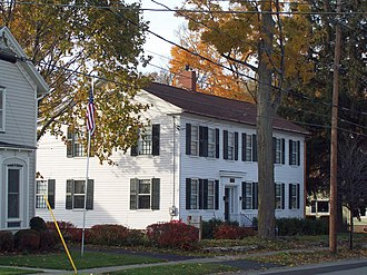 Seth M. Gates House - Seth M. Gates House, October 2009