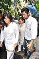 Shaad Randhawa visits Dara Singh's home 04.jpg